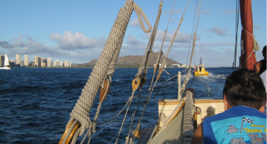 VIEW FROM THE HOKULEA